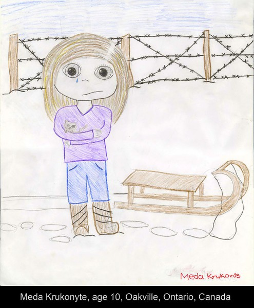 Meda-Krukonis,-A-girl's-sadness